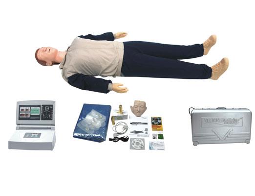 高级中屏幕液晶自动电脑心肺复苏模拟人